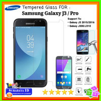 "Tempered Glass Samsung Galaxy J3/J3 Pro (5.0"" inchi)"