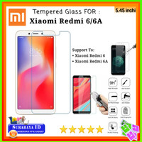 Tempered Glass Xiaomi Redmi 6 / Redmi 6A (5.45 inchi)
