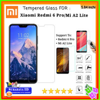 Tempered Glass Xiaomi Redmi 6 Pro / Mi A2 Lite (5.84 inchi)