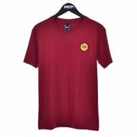 MRN WOV PATCH / Men Short Tshirt Maroon- Premium Nation Original