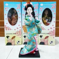 Boneka Geisha Jepang 25.5 cm F