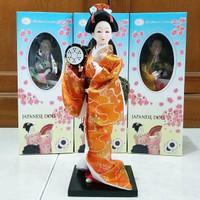 Boneka Geisha Jepang 25.5 cm H