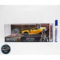 JADA 1:24 Transformers Bumblebee HOT ROD Diecast Model Car Coin
