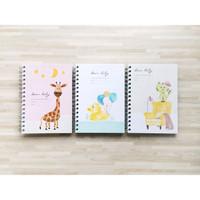 Peekmybook Dear Baby / Pregnancy and Baby Journal / Agenda Bayi
