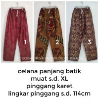 celana panjang batik pria katun primisima