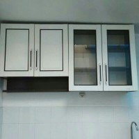 Lemari sayur 4 pintu / Lemari dapur