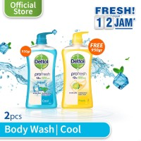 Dettol Cool 950g Pump - Free Fresh 950g pump