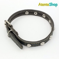 Atanta - Kalung Kulit 33x1.3cm collar for dog kalung anjing no1