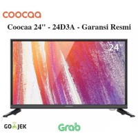 "LED TV 24"" Coocaa 24D3A USB Movie VGA HDMI Garansi Resmi"