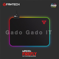 MousePad Game/Mouse PAD Gaming FANTECH AURORA MPR351s RGB LED (35x25Cm