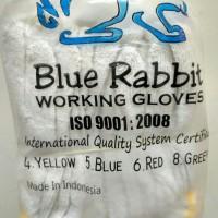 Sarung Tangan Rajut BLUE RABBIT 4 Benang ( 12 pasang )