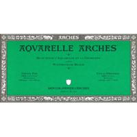 ARCHES Cold Pressed 300gsm 15x30cm Watercolour Paper Block