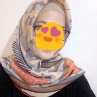 hijab voal premium, voal printed scarf, voal ala premium