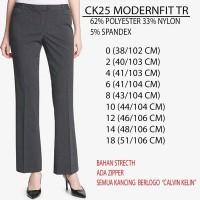 celana branded-Calvin Klein Modernfit Trouser