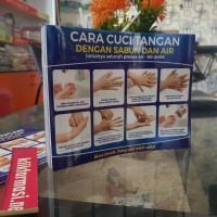 Stiker Cara Cuci Tangan