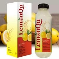 LemonQu 500 ML - Jus Diet Kualitas Lemona Pelangsing - Sari Lemon Asli