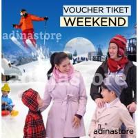 Tiket Masuk Trans Snow World Bekasi - Weekend