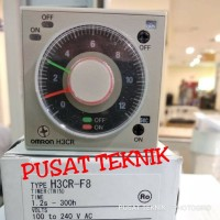 TIMER OMRON H3CR-F8 2 JARUM - TIMER OMRON ORIGINAL 2 JARUM