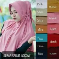 Hijab Khimar Kerudung Instan Jilbab Ped Jokowi Terbaru Murah