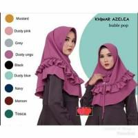 Hijab Khimar Kerudung Instan Jilbab Ped Azelea Buble pop TerBaru Murah