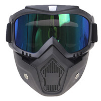 google mask / masker google / google glasses kacamata + masker retro
