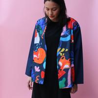 Fox Fiction Kimono Outer