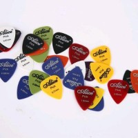 Alice Pick Gitar Akustik Frosted Face 24PCS Alat Bantu Gitar - Multi