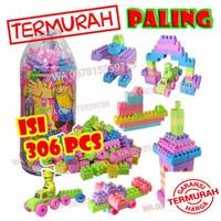Mainan Lego Anak Murah MERIAH isi banyak 306 pcs