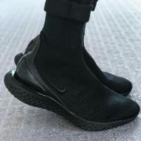 "Nike Rise React Flyknit ""FULL BLACK"" premium size 39-45"