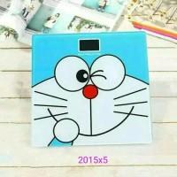 KR Timbangan Badan Digital Desain Doraemon