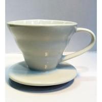 V60 ceramic dripper 01 black 1-2cups / V60 Dripper Keramik TERMURAH