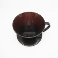Tokyo 1 saringan kopi Brown Coffee Dripper (119050)