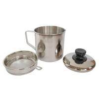 Oil Pot Rosh Wadah Minyak Bekas Stainless Steel