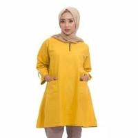 Blouse Nagita Baju Atasan Tunik Wanita Muslim Blouse Monna Jumbo -