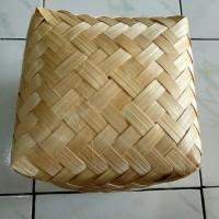 Besek bambu 20x20 Murah kualitas super tebal kuat