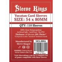 Sleeve Kings Yucatan Card Sleeves (54x80mm) -110 Pack, -SKS-8806