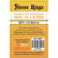 Sleeve Kings Standard USA Card Sleeves (56x87mm) - 110 Pack, SKS-8807