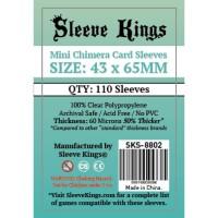 Sleeve Kings Mini Chimera Card Sleeves (43x65mm) - 110 Pack, -SKS-8802