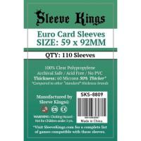 Sleeve Kings Euro Card Sleeves (59x92mm) - 110 Pack, -SKS-8809