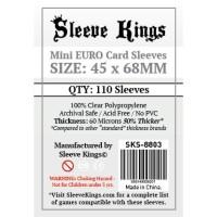 Sleeve Kings Mini Euro Card Sleeves (45x68mm) - 110 Pack, -SKS-8803