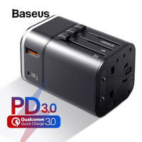 BASEUS Travel Power Delivery PD Charger Adaptor Quick Charger QC 3.0