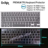 Keyboard Protector DELL Inspiron 15 5568 7568 - DrSkin PREMIUM TPU
