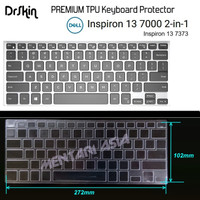 Keyboard Protector DELL Inspiron 13-7373 - DrSkin PREMIUM TPU Clear