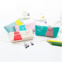 Dompet pensil stationery minimalis animal edition