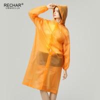 Jas Hujan 35 Pcs Panjang Transparan Poliester Dewasa Wanita Kedap
