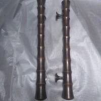 Handle Pintu Murah / Handle Pintu Kuningan Motif Pring Kuning 60 cm