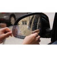F747 Stiker Film Air Anti Embun Hujan Kabut ANTI FOG Spion Mobil OVAL