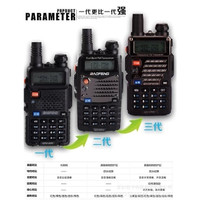 HT Dual Band Handy Talky Baofeng UV 5RE PLUS spek diatas UV-5R UV5RA