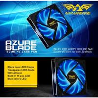 Fan Casing Armageddon Azure Blade 12cm Blue LED
