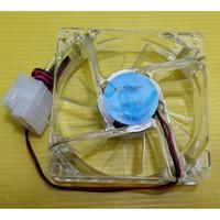 FAN Casing 8 CM Transparan Lampu